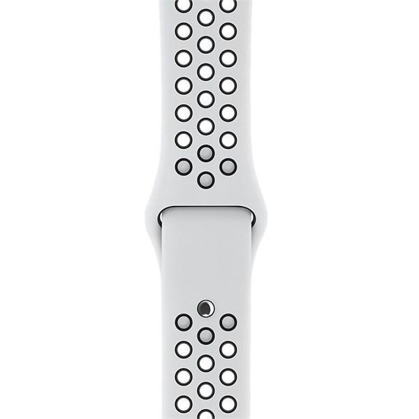 2db3a2195 Apple Watch Nike+ 42mm stříbrný hliník s platinovým/černým Nike ...