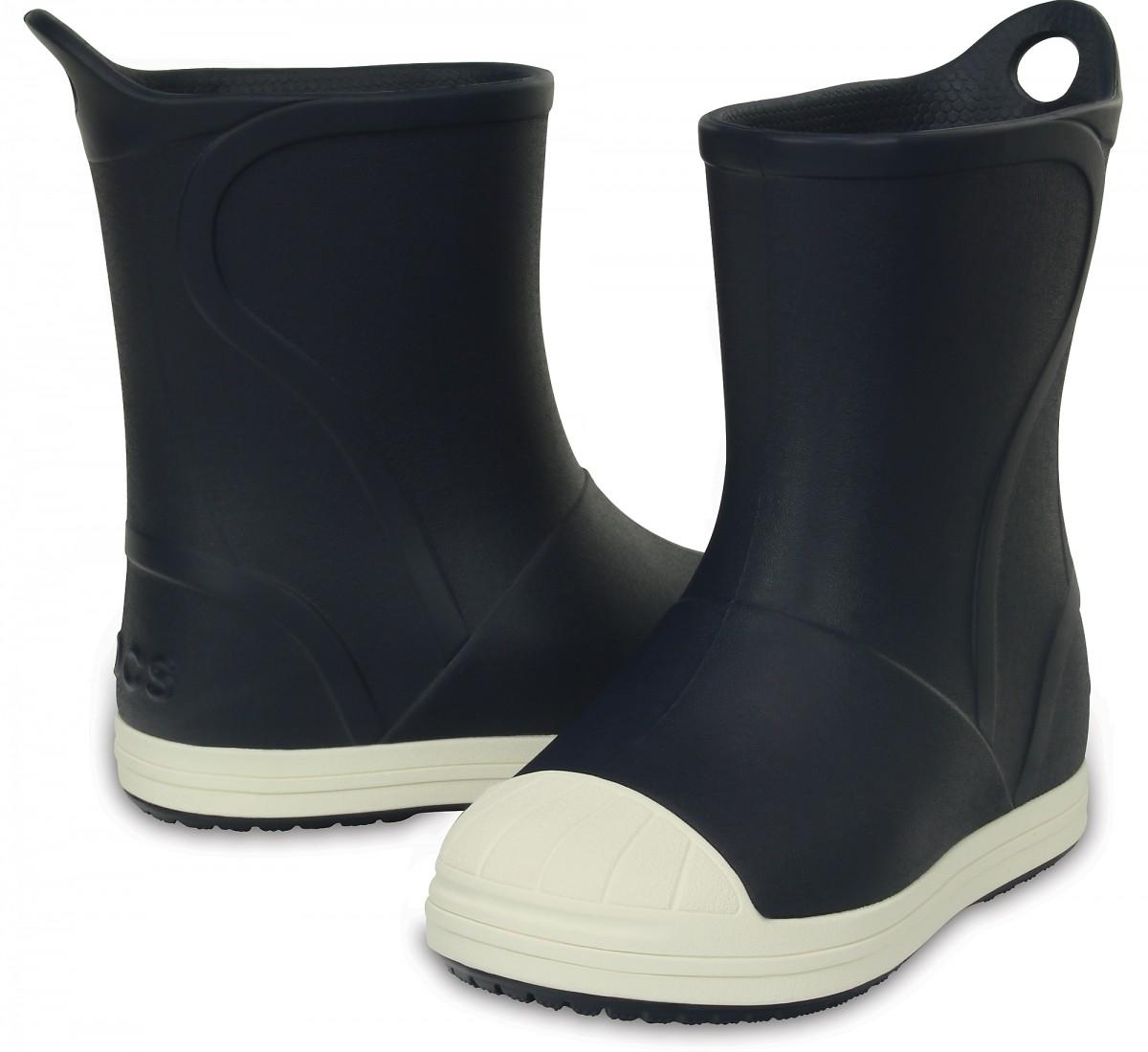 Dětské holínky Crocs Bump It Rain Boot - Navy Oyster b63a809477