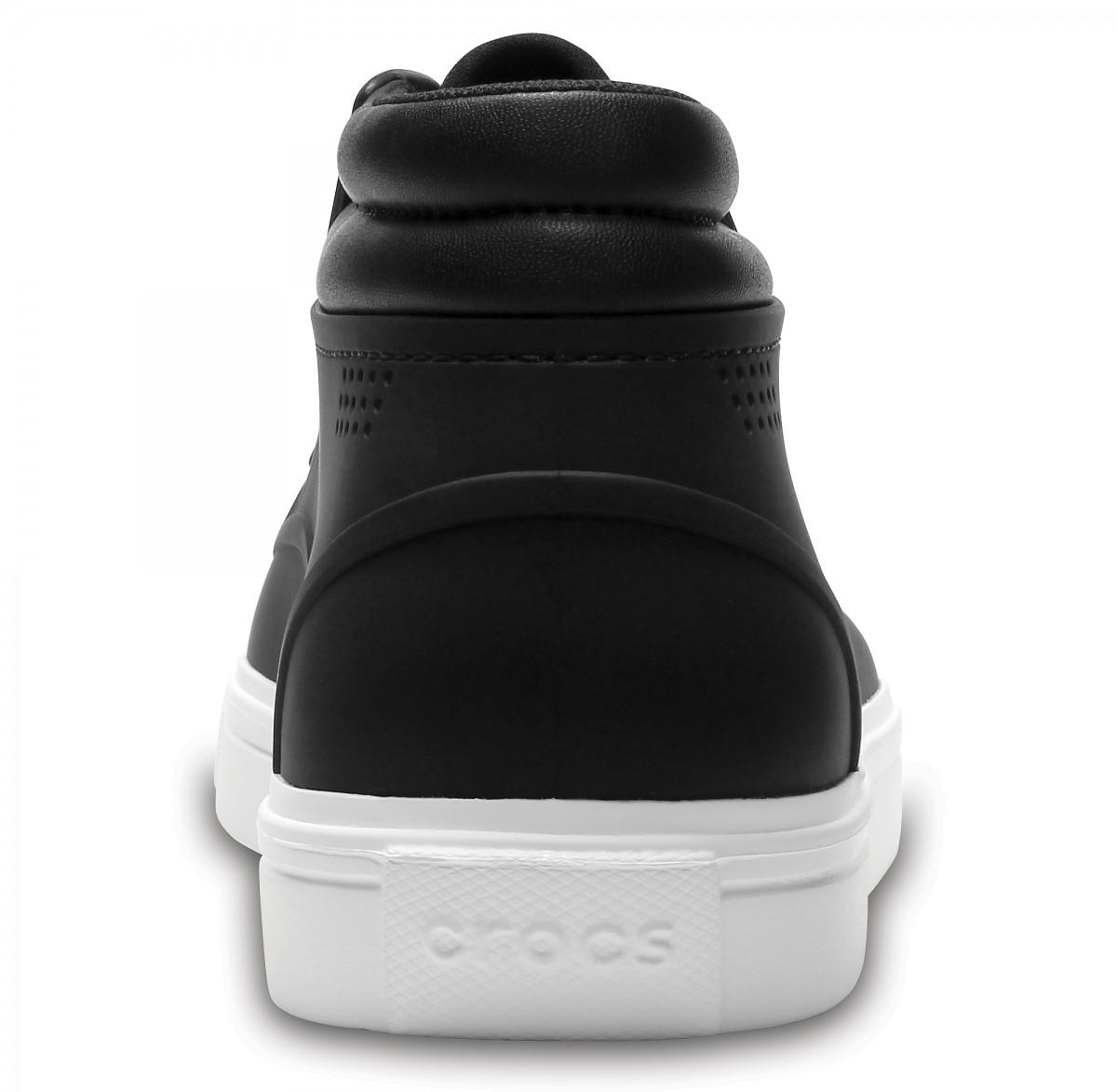 Pánské kotníkové boty (tenisky) Crocs CitiLane Roka Chukka - Black ... ef61513a18