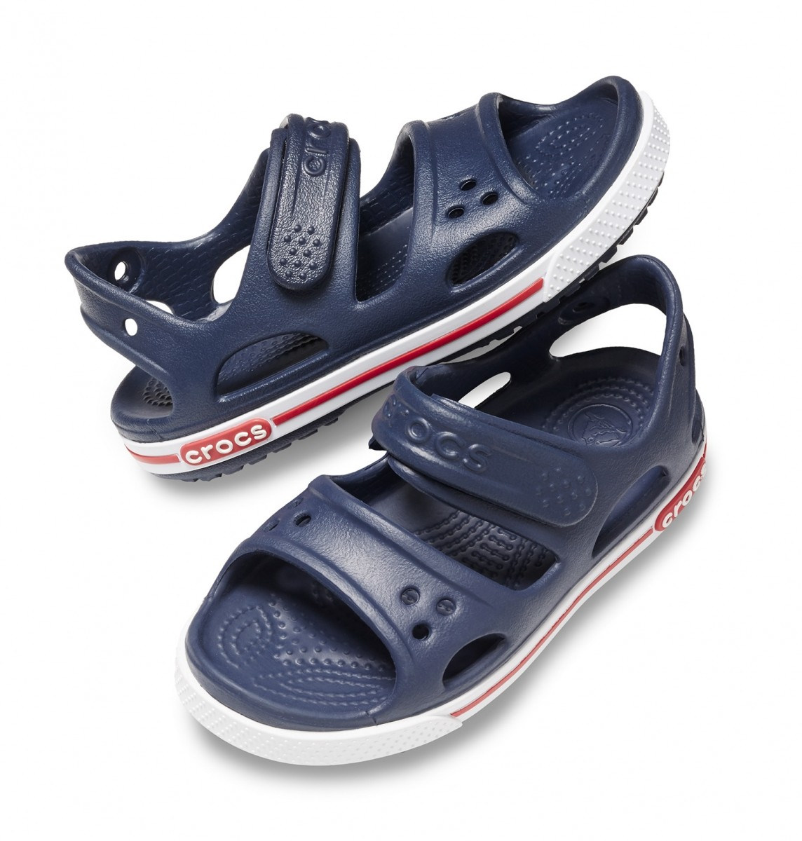 Dětské sandály Crocs Crocband II Sandal - Navy White 8a5558b9d1