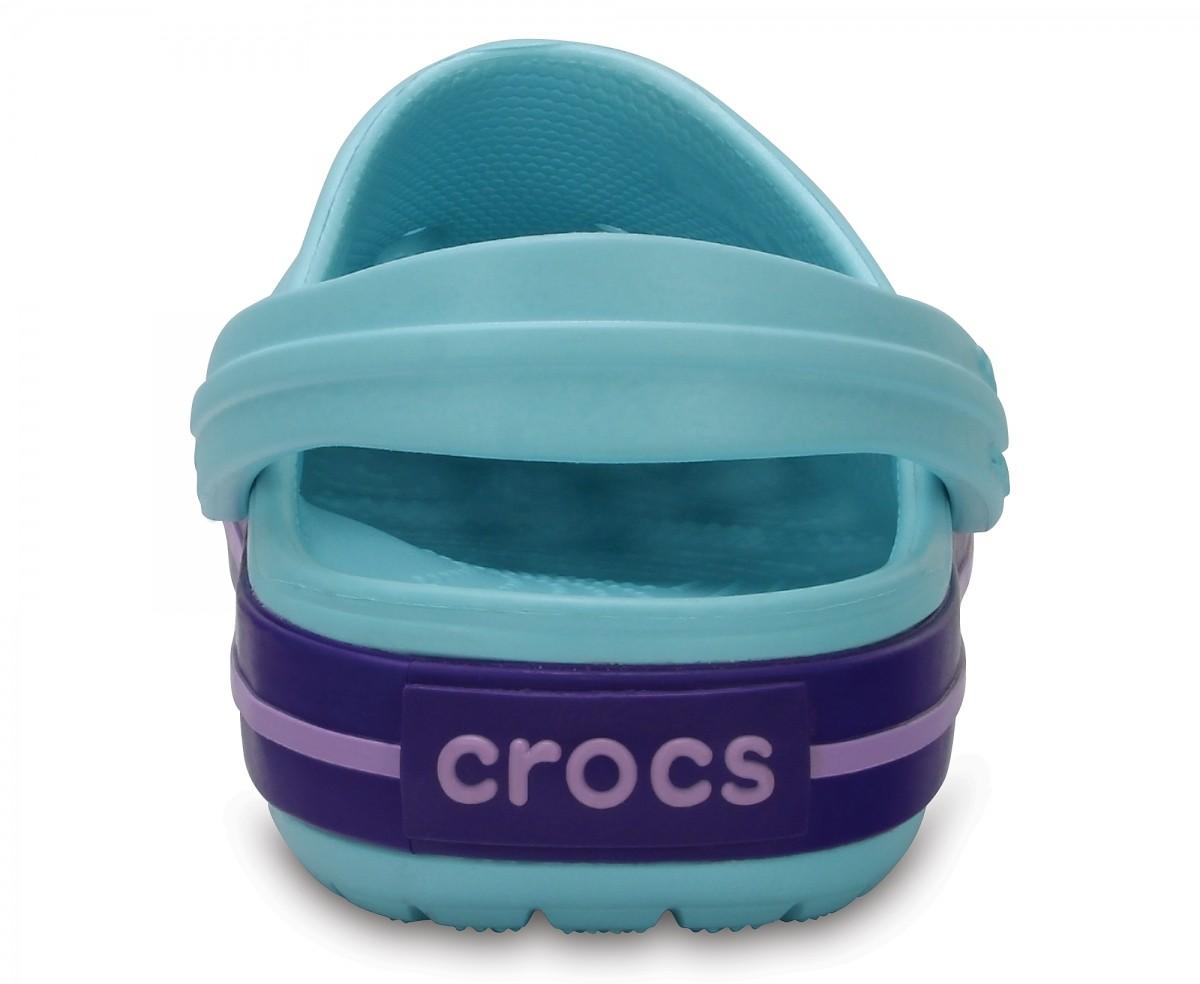 Dětské pantofle (nazouváky) Crocs Crocband Kids - Ice Blue 16df5516e4