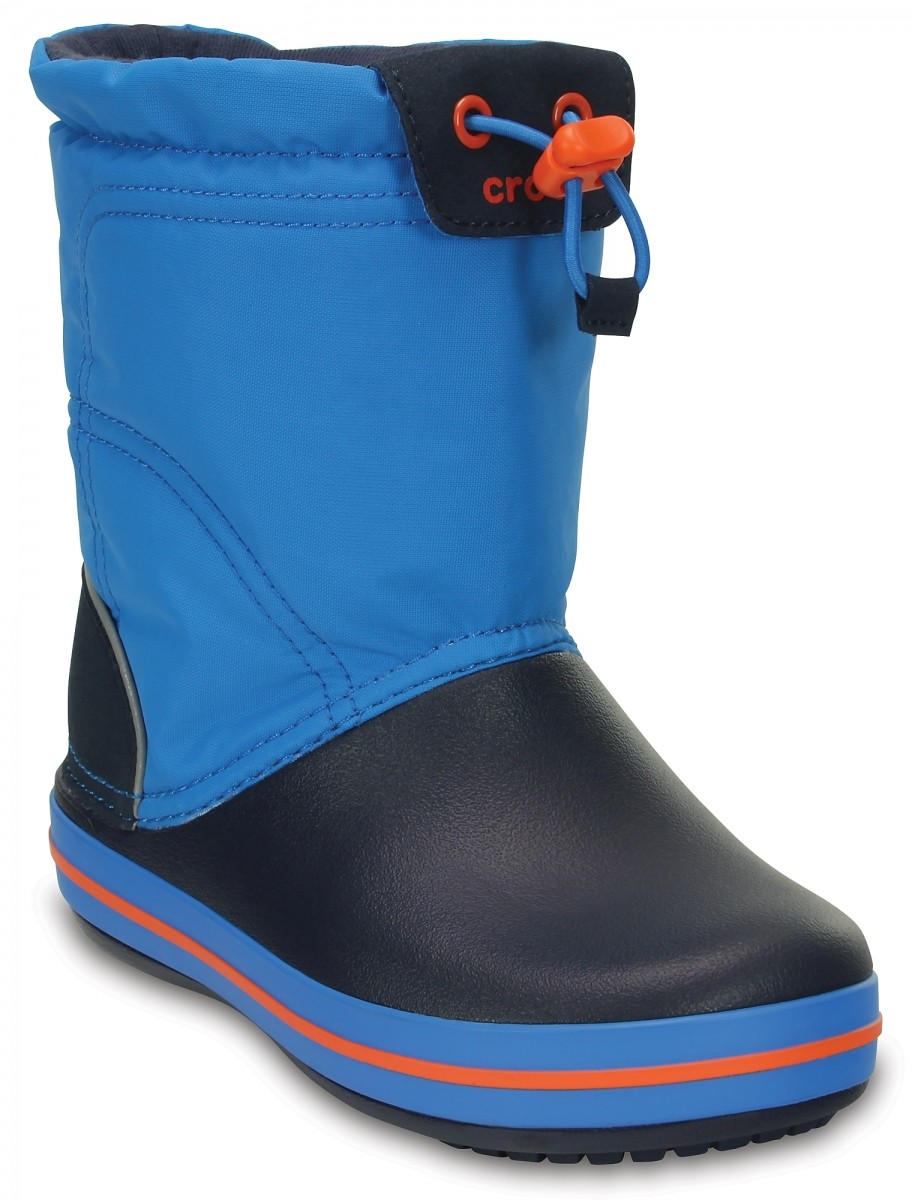 5d3c025aa06 Dětské sněhule Crocs Crocband LodgePoint Boot Kids - Ocean Navy