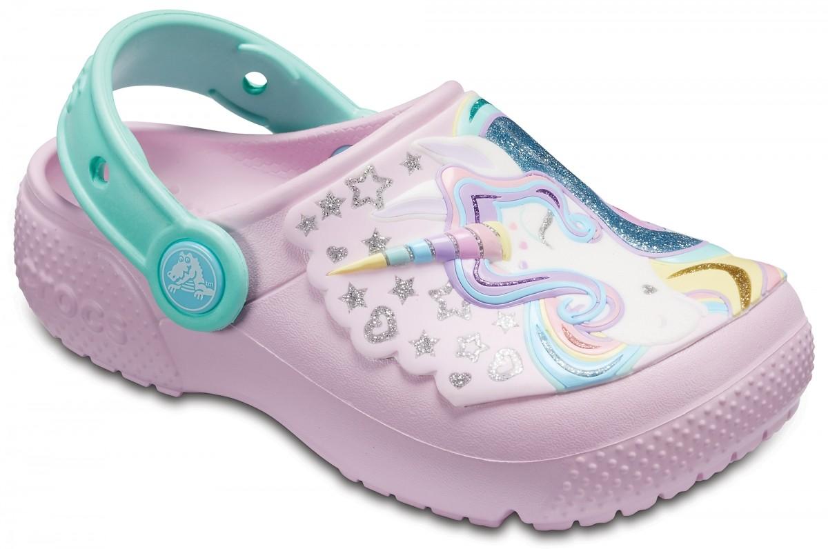 1682d5aabb9 Dětské pantofle (nazouváky) Crocs Fun Lab Unicorn Clog - Ballerina ...