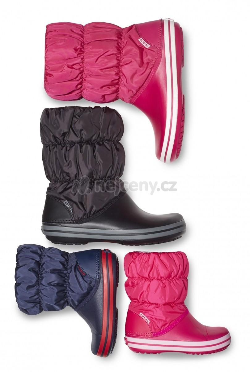 0b9ed70f870 Dětské zimní boty Crocs (sněhule) Crocs Winter Puff Boot Kids - různé barvy