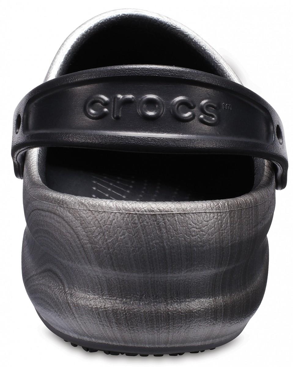 c7ff700b060 Pracovní obuv (boty) Crocs Work Bistro Graphic - Metallic Silver ...