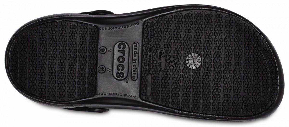 918d89714b2 Pracovní obuv (boty) Crocs Work Bistro Graphic - Black White Black ...