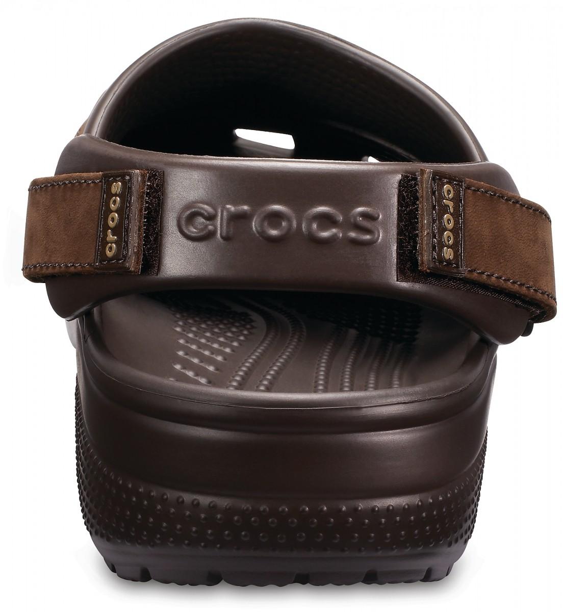 Pánské pantofle (nazouváky) Crocs Yukon Vista Clogs - Espresso 209051b179b