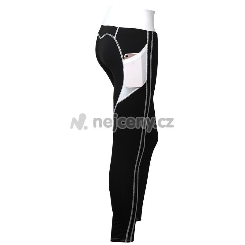 a92d86339f1 Dámské sportovní fitness legíny s kapsou LEG10