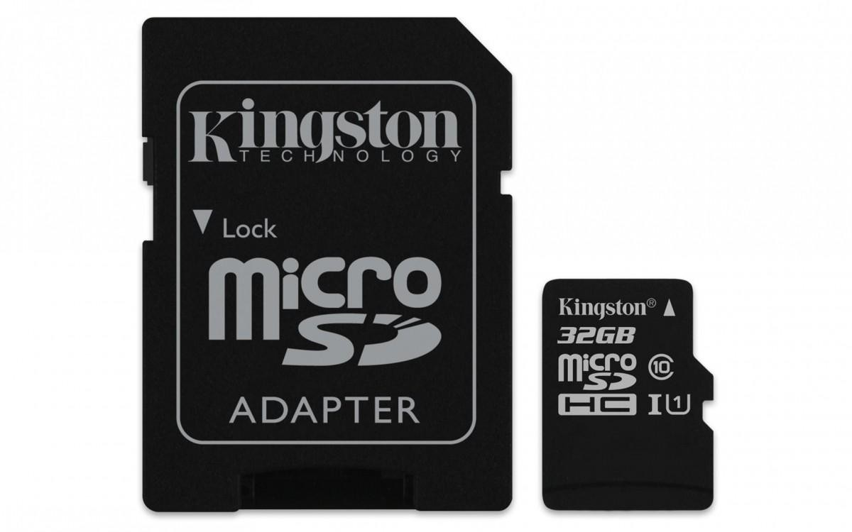 6695ca5aa86 ... Kingston 32GB Micro SecureDigital (SDHC UHS-I) Card