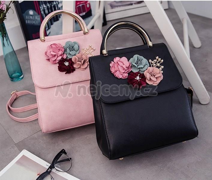 Elegantní módní batoh PL105 pro dámy i studenty - černá - NEJCENY.cz 5c2e1c3c72