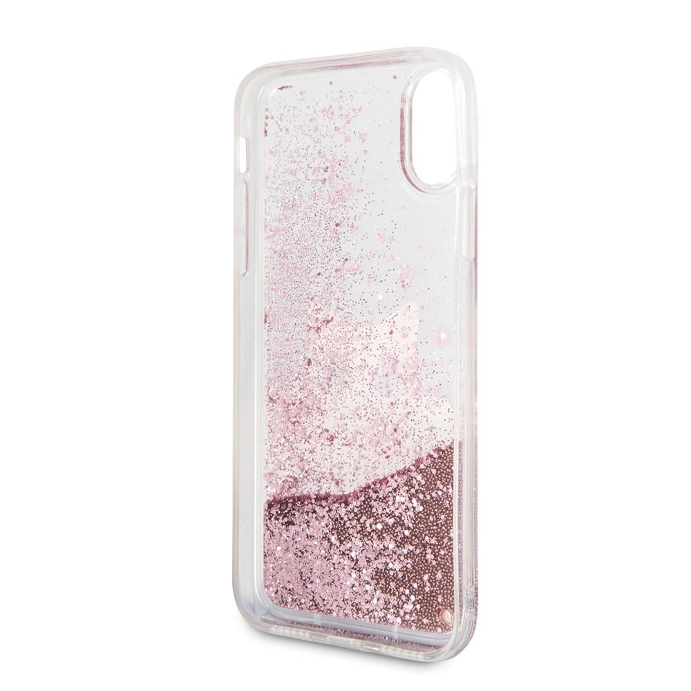 Kryt (obal) na mobil Apple iPhone XS MAX Karl Lagerfeld Peek a Boo Glitter 0772f8c4efb