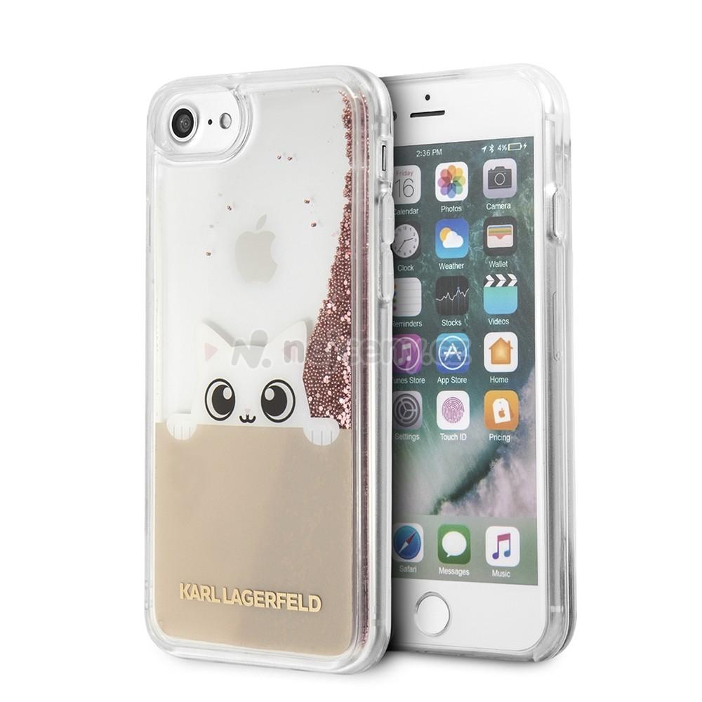 Kryt (obal) na mobil Apple iPhone 8 7 KLHCI8PABGNU Karl Lagerfeld Peek and 0217c87a565