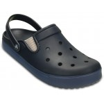 Crocs CitiLane Flash Clog, Navy / Bijou Blue [1]