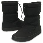 Sněhule Crocs Lodge Point PullOn Boot Nylon Black [4]