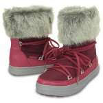 Sněhule Crocs Lodge Point Lace Boot Nylon Pomegranate [4]