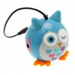 Přenosný reproduktor KitSound Mini Buddy Owl Blue [3]