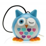 Přenosný reproduktor KitSound Mini Buddy Owl Blue [4]