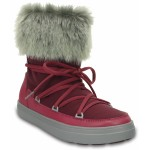Sněhule Crocs Lodge Point Lace Boot Nylon Pomegranate [1]