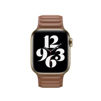 Watch Acc/44/Saddle Brown Leather Link-Sm [2]