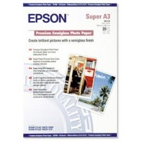 EPSON A3+, Premium Semigloss Photo Paper (20listů)