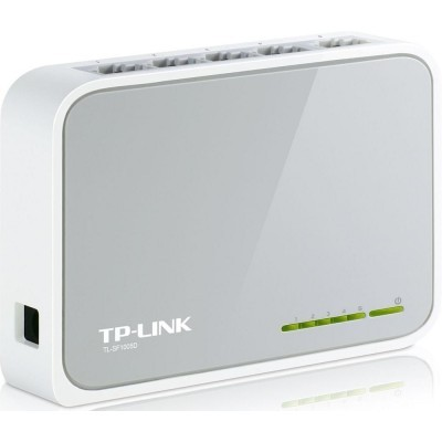 mini switch TP-LINK 5 x 10/100 Mbs + 1 x uplink