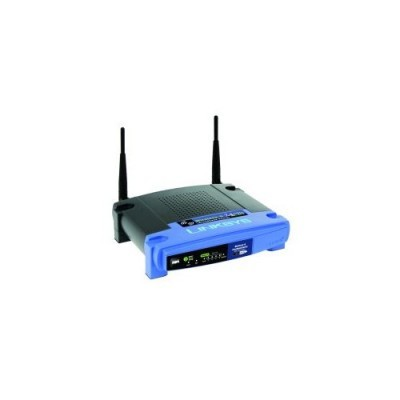 Linksys 54Mbps Wi-fi AP Router w/4p. Linux WRT54GL