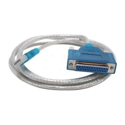 PremiumCord USB printer kabel USB na paralelní port (DB25F)