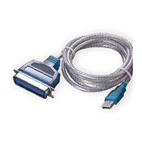 PremiumCord USB printer kabel USB na paralelní port LPT (CEN36M)