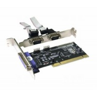 i-tec PCI Card 2x serial, 1x parallel
