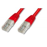 PremiumCord Patch kabel UTP RJ45-RJ45 level 5e 2m červená