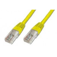 PremiumCord Patch kabel UTP RJ45-RJ45 CAT6 10m žlutá