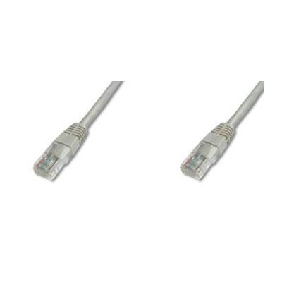 PremiumCord Patch kabel UTP RJ45-RJ45 CAT6 10m šedá