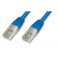 PremiumCord Patch kabel UTP RJ45-RJ45 CAT6 2m modrá