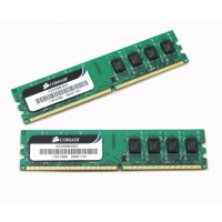 Corsair 4GB (Kit 2x2GB) 800MHz DDR2 CL5 DIMMs