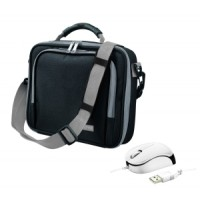 TRUST Netbook Bag & Mouse Bundle - Black