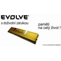 EVOLVE by Zeppelin DDR II 2GB 800MHz EVOLVE GOLD (box), CL5 (doživotní záruka)