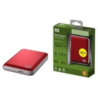 "Disk Western Digital My Passport Essential 1TB, USB 3.0, 2.5"" externí, Red"