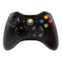 XBOX 360 Wireless Controller Black new