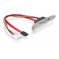 Záslepka SATA Power 15pin z SATA 7 pin + Molex 4-pin