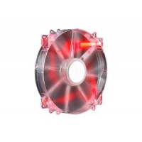 Coolermaster větrák 200x200x30 Mega Flow,LED red