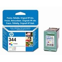 HP 344 Tri-colour Inkjet Print Cartridge with Vivera Inks