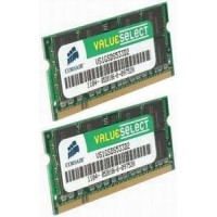 Corsair 4GB (Kit 2x2GB) 667MHz DDR2 CL5 SODIMMs (pro NTB)