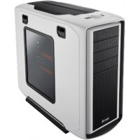 Corsair PC skříň Graphite Series™ 600T ATX White, 2x větrák 200mm s LED, průhled