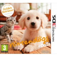 3DS - Nintendogs+Cats - Golden Retriever&new F