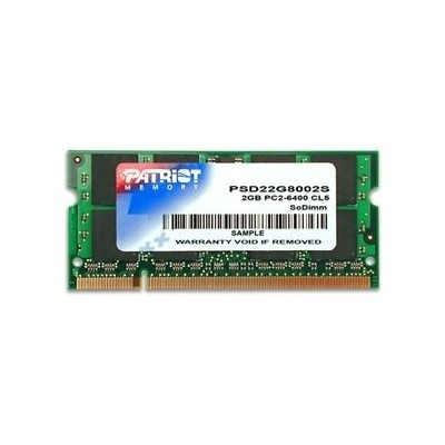 Patriot 2GB 800MHz DDR2 SODIMM