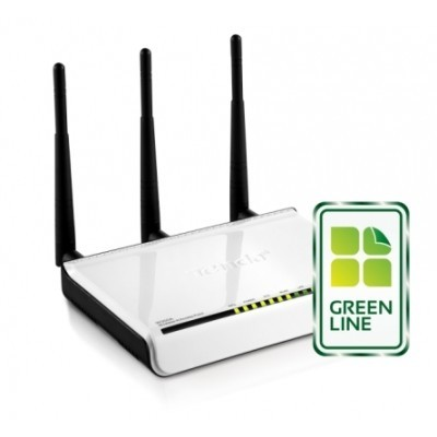 Tenda W300A Wireless-N AP 802.11b/g/n, 300Mbps, 1x 10/100/1000Mbps LAN, 3x Ext.