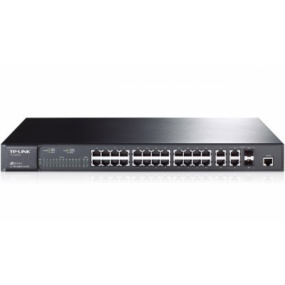 "TP-LINK TL-SL3428 switch 24+4G  19""rackmount"