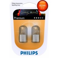 R5W 12V 5W BA15S Philips (blistr - 2ks)