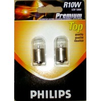 R10W 12V 10W BA15S Philips (blistr - 2ks)