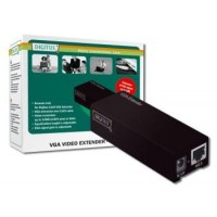 DIGITUS Remote Unit for VGA Video Extender and Splitterdistance up to 180 m resolution 1280X1024 at 60Hz